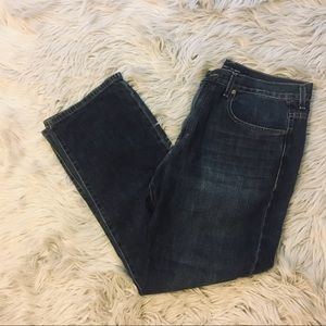 MEN'S CALVIN KLEIN RELAXED STRAIGHT JEANS